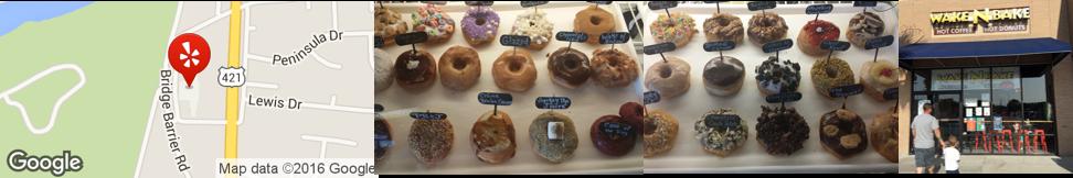 Wake N Bake Donuts, Carolina Beach