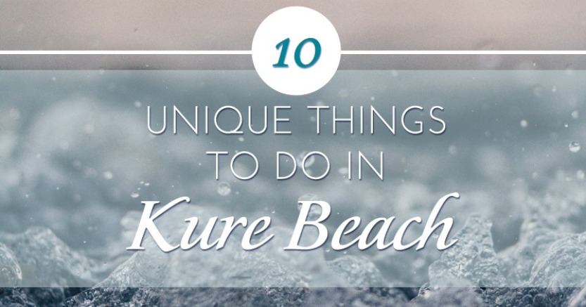 Kure Beach is a unique place to vacation and one of the things that makes it such a great destination is the wide variety of things to do and see.