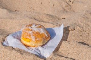 Stay in your beachfront house and get dessert delivered to you